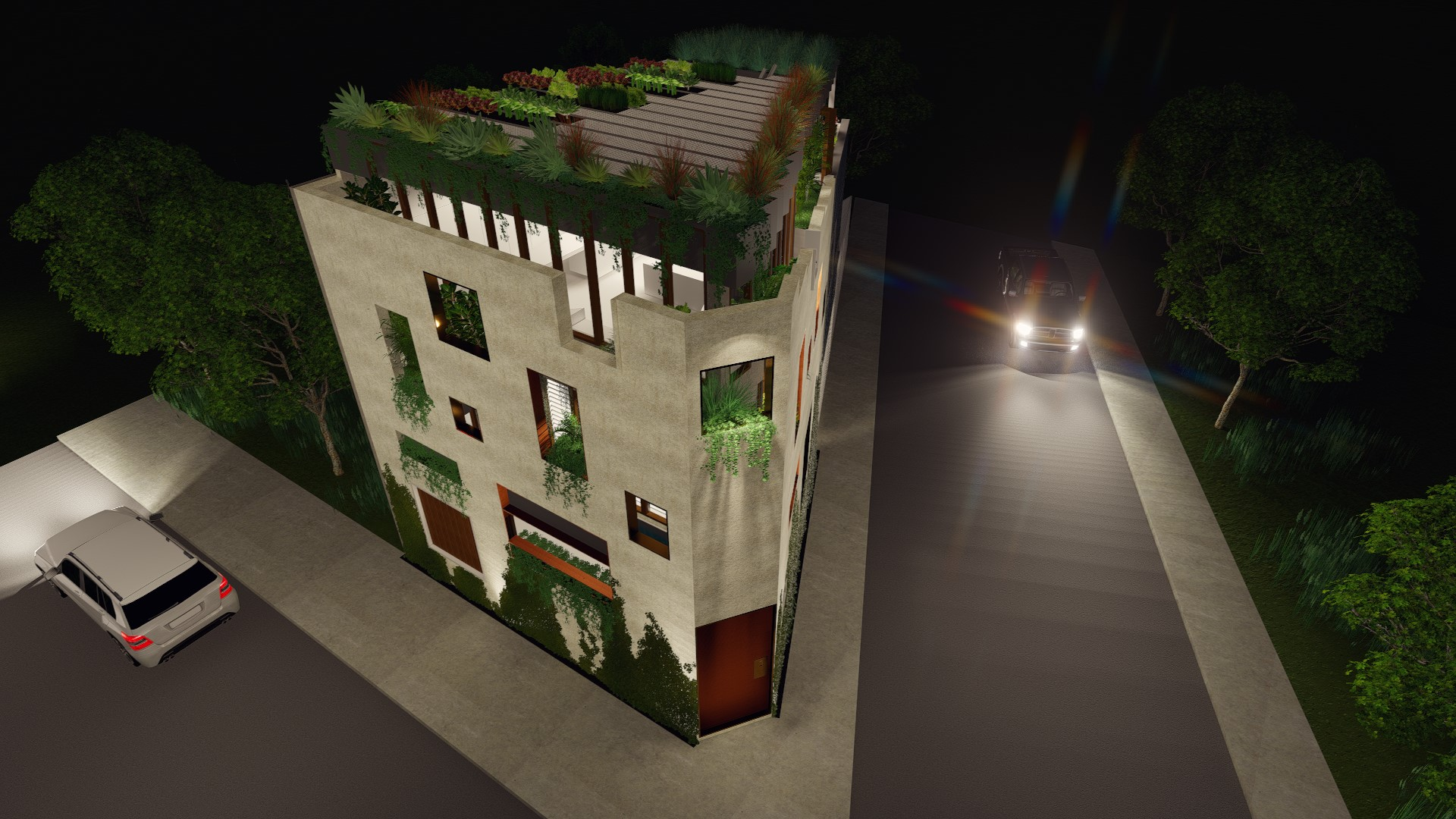 Cole Residence_Lighting Effects (5)